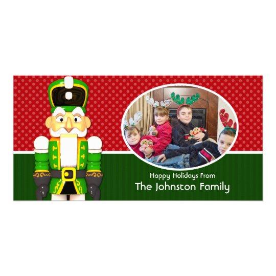 Nutcracker Family Holiday Photo Card