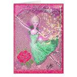 Nutcracker Flying Ballerina-353 Card