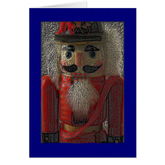 Nutcracker General Christmas Card