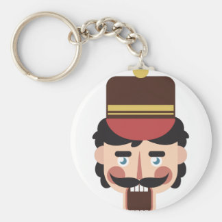 Nutcracker Head Keychain
