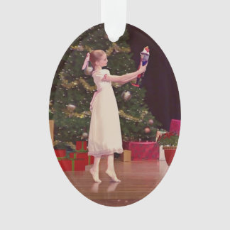 Nutcracker Holiday Customizable Ornament