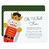Nutcracker Holiday Party Invitation