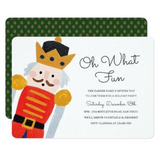 Nutcracker Holiday Party Invitation