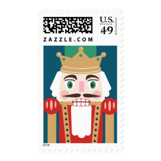 Nutcracker Holiday Postage Stamps Postage
