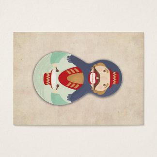 Nutcracker, Matroshka, Russian doll, babushka Business Card