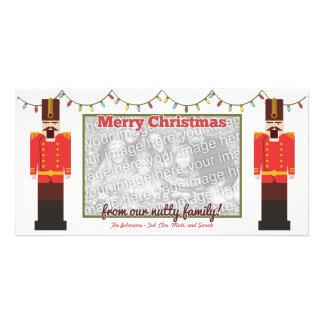 Nutcracker Merry Christmas Photo Card Template