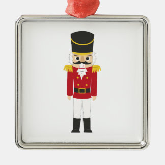 Nutcracker Metal Ornament