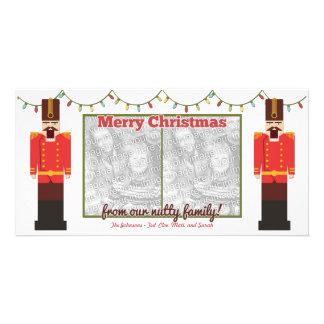 Nutcracker-Nutty Family-Photocard Template
