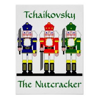 Nutcracker Personalized Christmas Ballet Gift Poster