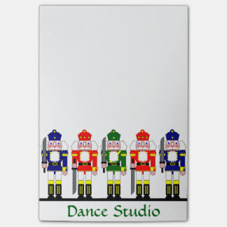 Nutcracker Personalized Christmas Ballet Gift Post-it® Notes