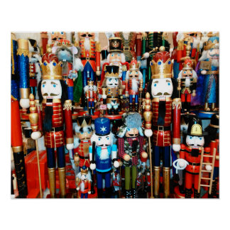 Nutcracker Poster Christmas Decor Holiday Cheer