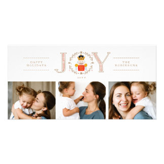 Nutcracker Prince Holiday Photo Card