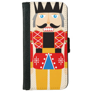 Nutcracker Soldier - Lovely and Cute Wallet Phone Case For iPhone 6/6s