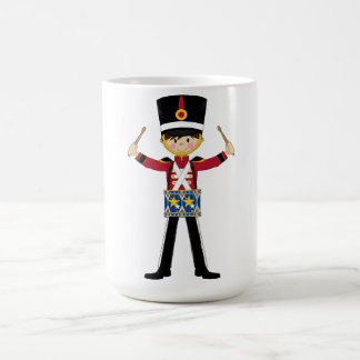 Nutcracker Soldier Playing Drums Coffe Cup