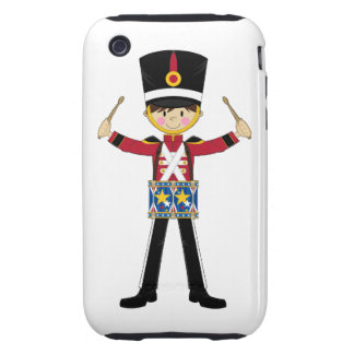 Nutcracker Soldier Playing Drums iphone Case Tough iPhone 3 Cover