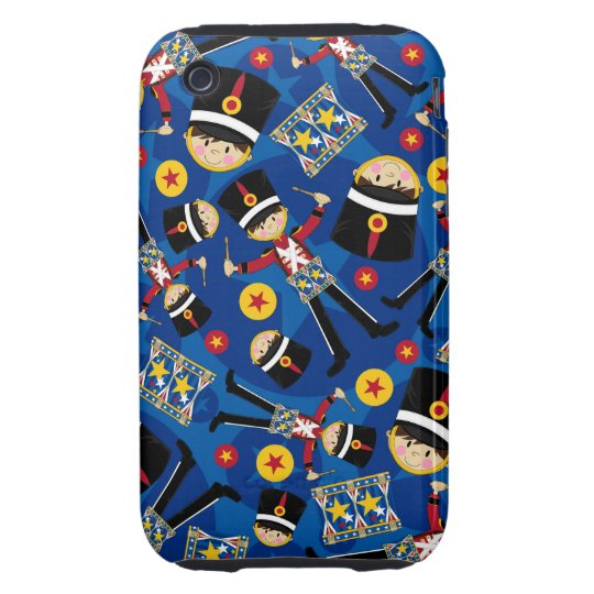 Nutcracker Soldier Playing Drums iphone Case