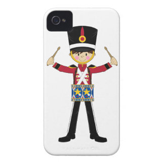 Nutcracker Soldier Playing Drums iphone Case iPhone 4 Cases