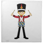Nutcracker Soldier Playing Drums Napkin