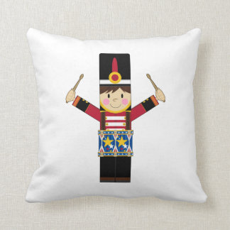Nutcracker Soldier Playing Drums Pillow