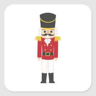 Nutcracker Square Sticker