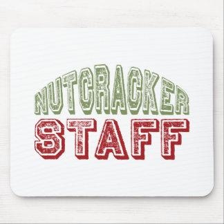 Nutcracker Staff Christmas Ballet Design Mouse Pad