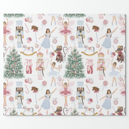 Nutcracker Sweets Wrapping Paper