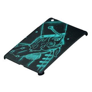 Nutcracker Toy Soldier in Black and Aqua iPad Mini Cover