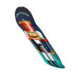Nutcracker Toy Soldier In Blue Uniform Skateboard Deck
