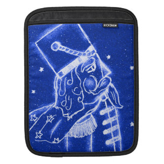NUTCRACKER TOY SOLDIER in Bright Blue Sleeve For iPads