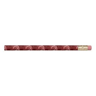 Nutcracker Toy Soldier in Bright Red Pencil