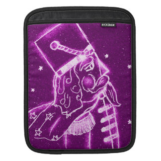 NUTCRACKER TOY SOLDIER in Magenta Sleeve For iPads