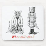 Nutcracker vs. Rat King - Who will win? Mouse Pad
