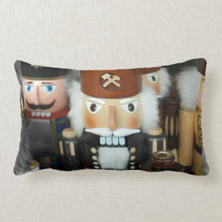 Nutcrackers Christmas Holiday Xmas Design Pillow