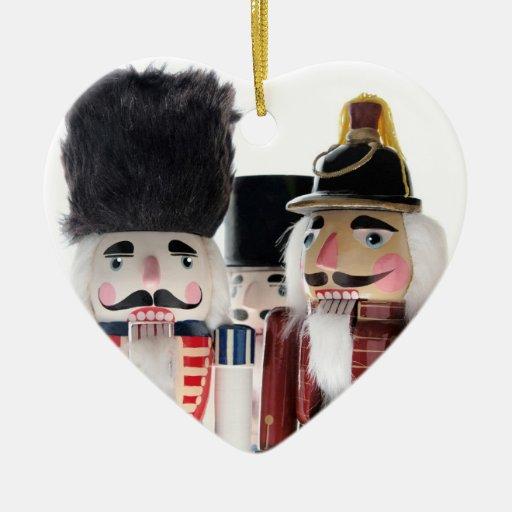 nutcrackers heart ornament