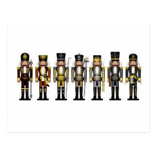 Nutcrackers in Bear Colors Postcard