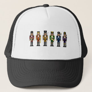 Nutcrackers in Rainbow Colors Trucker Hat