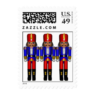 Nutcrackers Traditional  Seasons Greetings Postage at Zazzle