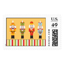 Nutcrakers ~ Postage Stamps