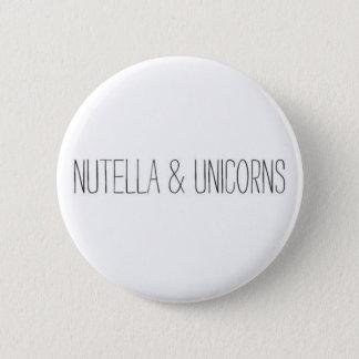 Nutella & Unicorns Button
