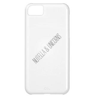 Nutella & Unicorns Case For iPhone 5C