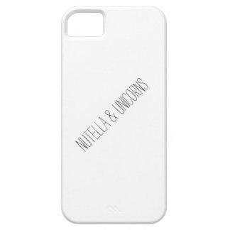 Nutella & Unicorns iPhone 5 Cover