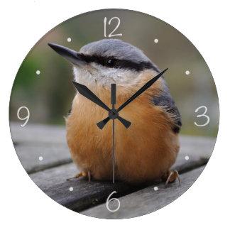 Nuthatch photo wall clocks