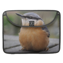 Nuthatch photo MacBook pro sleeves