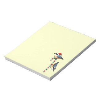 Nuthatch Santa Memo Note Pads