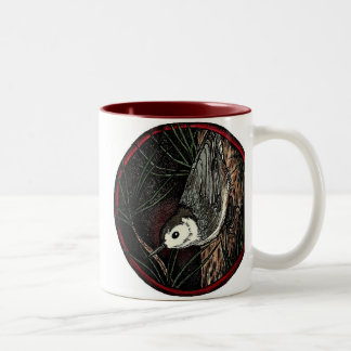 Nuthatch Winter Bird Mug large