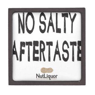NutLiquor ningún regusto salado Cajas De Recuerdo De Calidad
