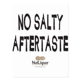 NutLiquor ningún regusto salado Tarjeta Postal