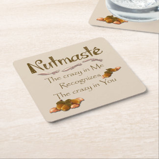 Nutmaste Square Paper Coaster