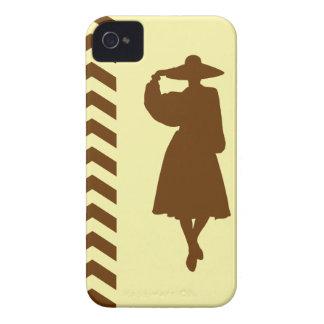 Nutmeg Cream Neutral Chevrons Fashion iPhone 4 Covers