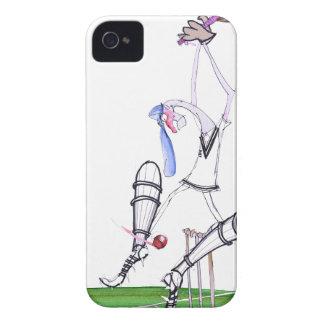 nutmeg - cricket, tony fernandes Case-Mate iPhone 4 cases